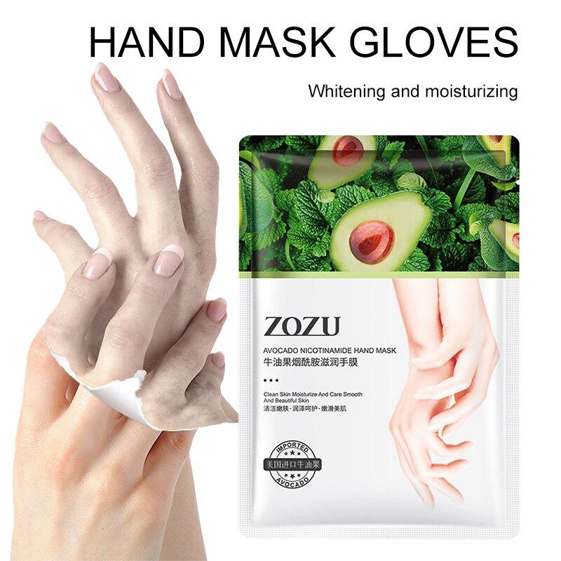 35 г/пара никотинамид масла ши для рук увлажняющая питательная маска для ног восстанавливающая отшелушивающая гладкая маска для ухода за кожей TSLM1| |   | АлиЭкспресс