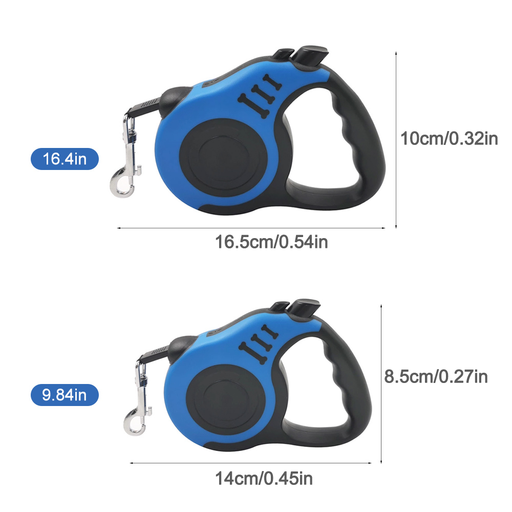 Retractable Dog Leash 3M/5M Automatic Flexible Dog Leash Pet Dogs Cat Traction Rope Leashes Tool For Small Medium Dogs