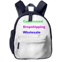 NOISYDESIGNS Kids School Kindergarten Bags Cute Name Image Phone Number Customized Boys Girls Backpack Cartoon Mochila Escolar