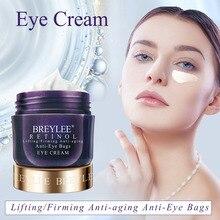 BREYLEE Retinol Eye Cream Anti Wrinkle Lifting Firming Anti-Aging Anti-Eye Bags Eyes Care Ageless Nourishing Whitening Eye Serum