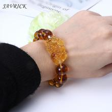 JAVRICK Feng Shui Gem Stone Wealth Pi Xiu Bracelet Attract Wealth and Good Luck feng shui pi xiu charm red string bracelet color change kabbalah braided mood bracelets attract wealth good luck jewerly