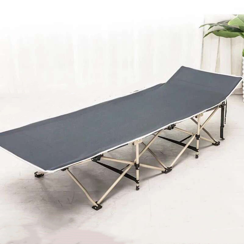 Aison Folding Bed Siesta Bed Single Bed Chair Camp Bed Accompanying Bed Lunch Bed Office Simple Rest Bed