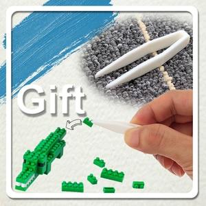 Image 2 - Fighter Game Model UFO CATCHER Building Bricks Brinquedos for Kids Gift 7808 ZRK Mini Blocks Cartoon Building Toy  VS loz