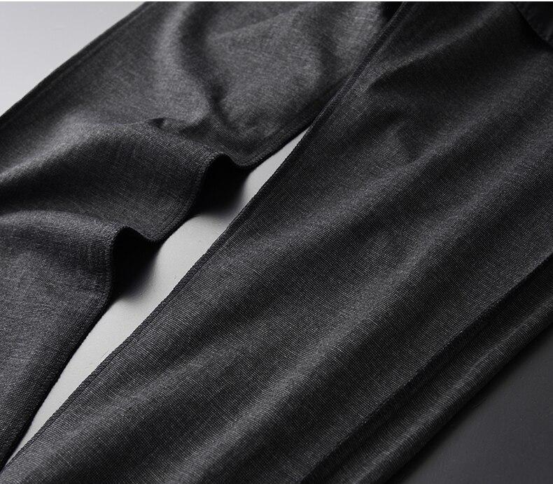 Новый осенний и зимний свободный Зимний толстый пуховик, Толстая черная мужская одежда - 6