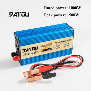 цена на 1500W Portable Voltage Converter DC 24V to AC 220V Inverter Charger Converter Adapter Car Power Inverter Rated 1000W