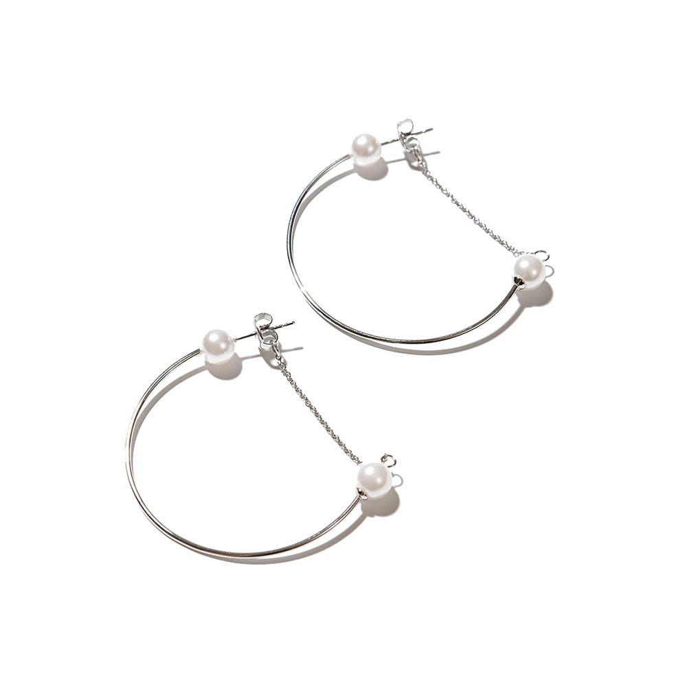 Jewelry Hoop Earrings Exclaim for womens 035S2592E Jewellery Womens Earrings Jewelry Accessories Bijouterie fringe tassel hoop drop earrings