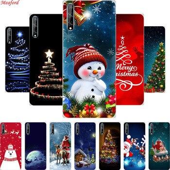 Funda trasera de silicona de Navidad Funda protectora para Meizu M5 M6 Note 16 M15 ME2 M5C 15 Plus 16X para Meizu M5s M6s Pro 6 plus
