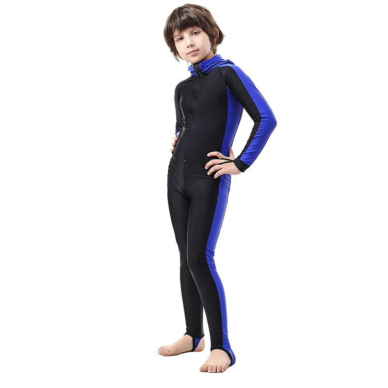 Maldives Children Diving Suit BOY'S/Girls Sun Protection Clothing Jellyfish Clothing