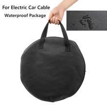 Sac à main pour véhicule électrique, sac de transport de câble EV, sac d'emballage étanche, conteneur d'équipement de chargement