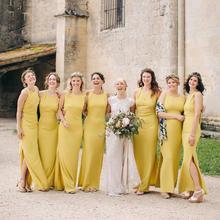 2019 Sexy Women Bridesmaid Dresses Sukienka Wesele Wedding Guest Dress Formal Party Gala Dress