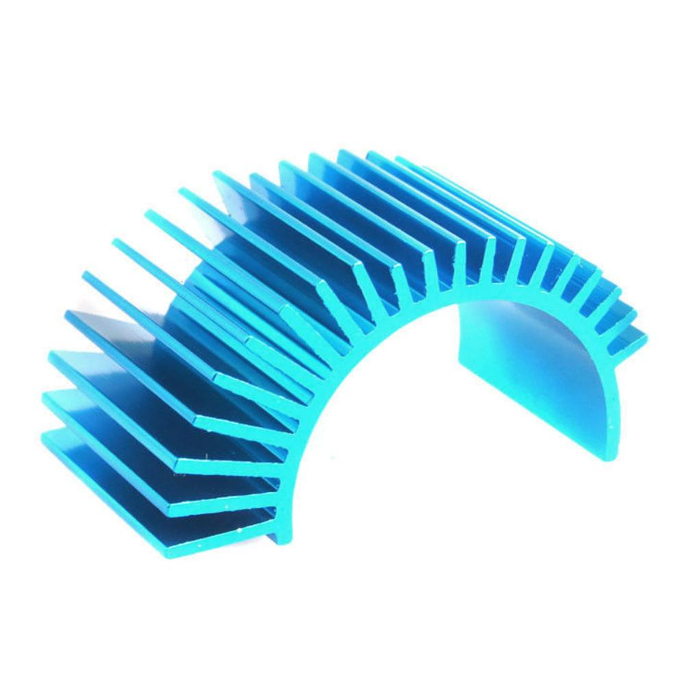 RC Heat Sink Brushless Aluminium Alloy Heat Sink for HSP RC 1/10 Model Car <font><b>540</b></font> 550 <font><b>Motor</b></font> Cooling <font><b>Fan</b></font> image
