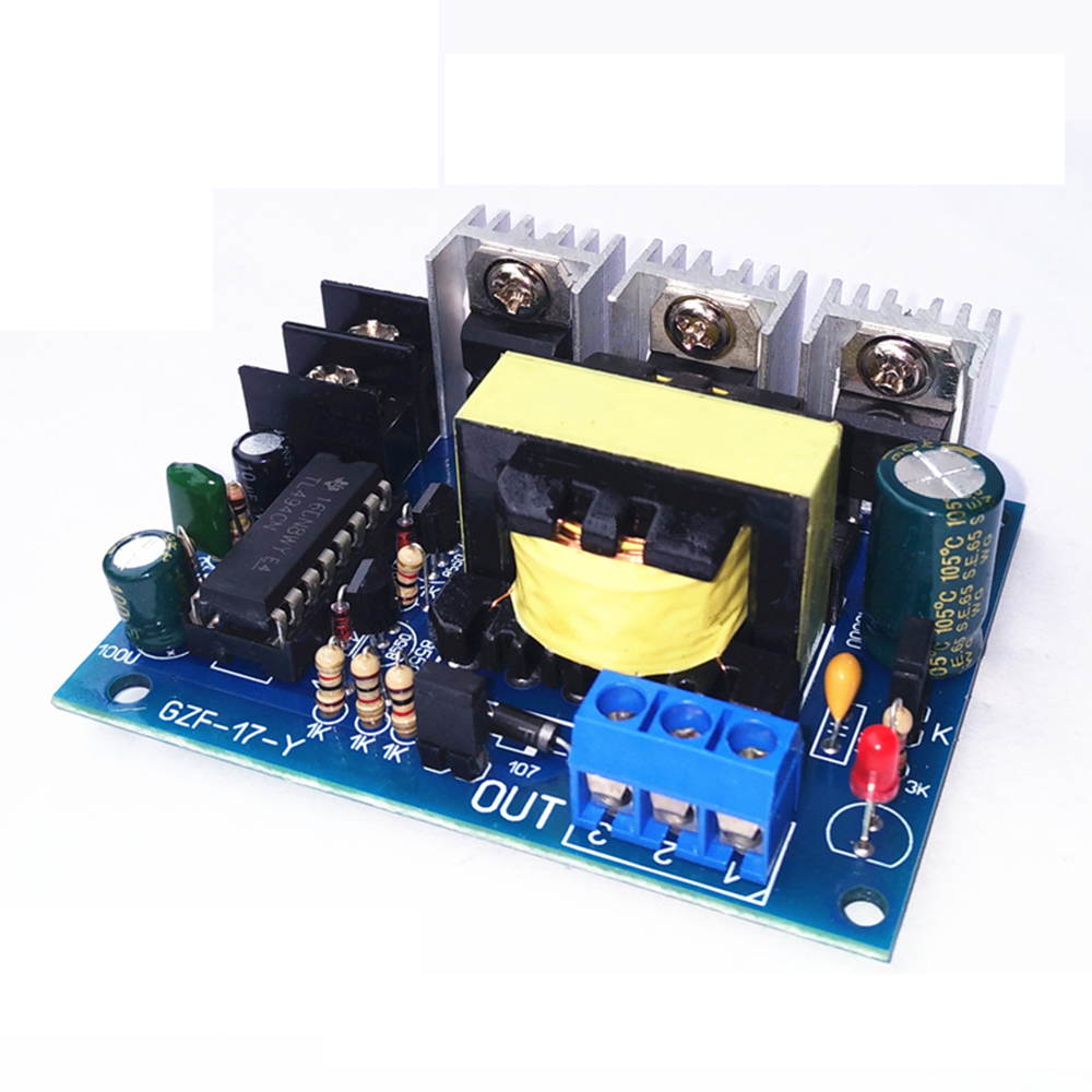 Taidacent 12VDC to AC110/220V Boost Module Small DC to AC Inverter D/A Board 12 Volt Mini Inverter High Frequency Power Inverter|  - title=