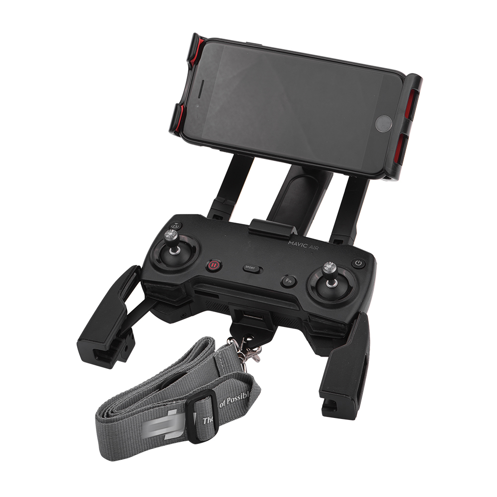 Remote Control Holder Bracket Phone Tablet Front Bracket Holder For DJI Mavic Pro DJI Mavic Air Spark Parts Mount Clip For Pad