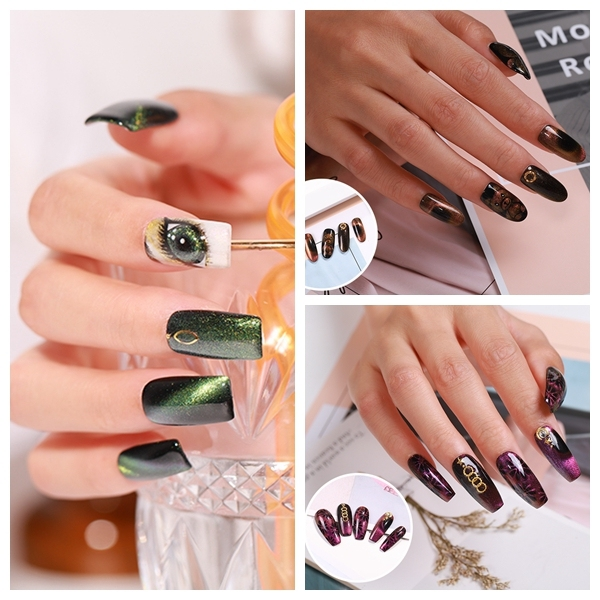 Elite99 9D Cat Eye Gel Polish 10ml Chameleon Magnetische Gel Nagellack Lack Tanzen Aurora Katze Auge Nagel Kunst UV LED Gel Lack