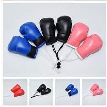 Luvas de boxe masculinas, pingente, bandeira, mini luva, bolsa de carro, pingente de joias, acessórios