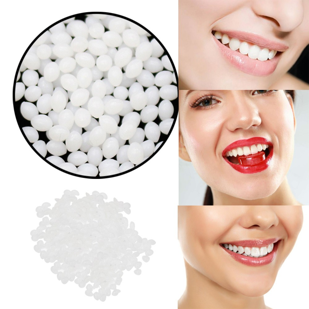 Props Adhesive Dentures Temporary-Tooth-Repair-Kit Teeth-Fangs Falseteeth Halloween Vampire title=