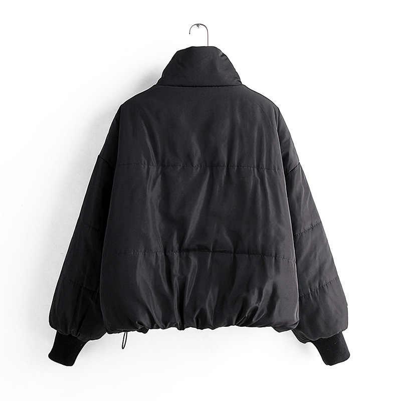 2019 womens winter coats 여성 코튼 캐주얼 자켓 warm parkas 여성 오버 코트 코트 캐주얼 패션 탑스 무료 배송