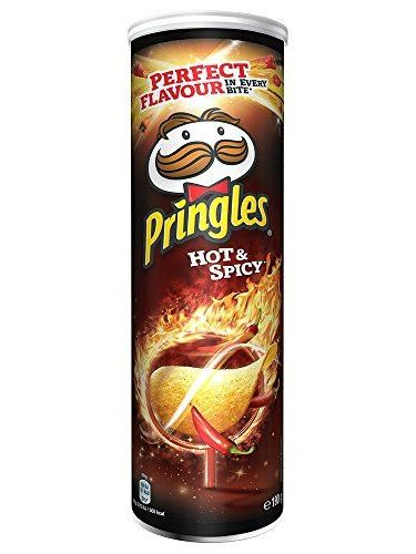 Kelloggs Pringles Hot and Spicy - 19 Paquetes de 190 gr - Total: 3610 gr