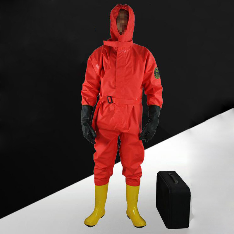 Simple Flood Control Light Chemical Protect Clothing Semi-closed Light Chemical Protective Clothing Marine Fire ProtectionDSS001