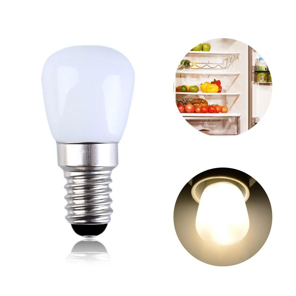E14 E12 2W Refrigerator LED Lighting Mini Bulb AC220V Refrigerator Interior Light White / Warm White /Dimming / No Dimming