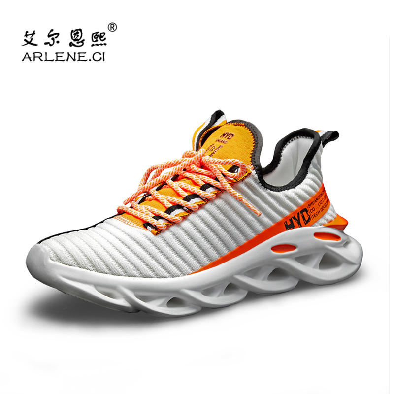 2020 Hot Sale New Men Runnig Shoes Breathable Lightweight Outdoor Sock Shoes Air Mesh Sneakers Men Sport Shoes Plus Size 36-48