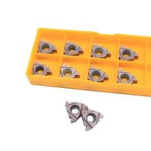 10PCS MMT 16ER AG60 VP15TF External Turning Tools Carbide insert Lathe cutter Tool Tokarnyy turning insert ser1212h16 cnc boring bar tool holder 10pcs 16er ag60 turning insert with wrench for lathe turning tools