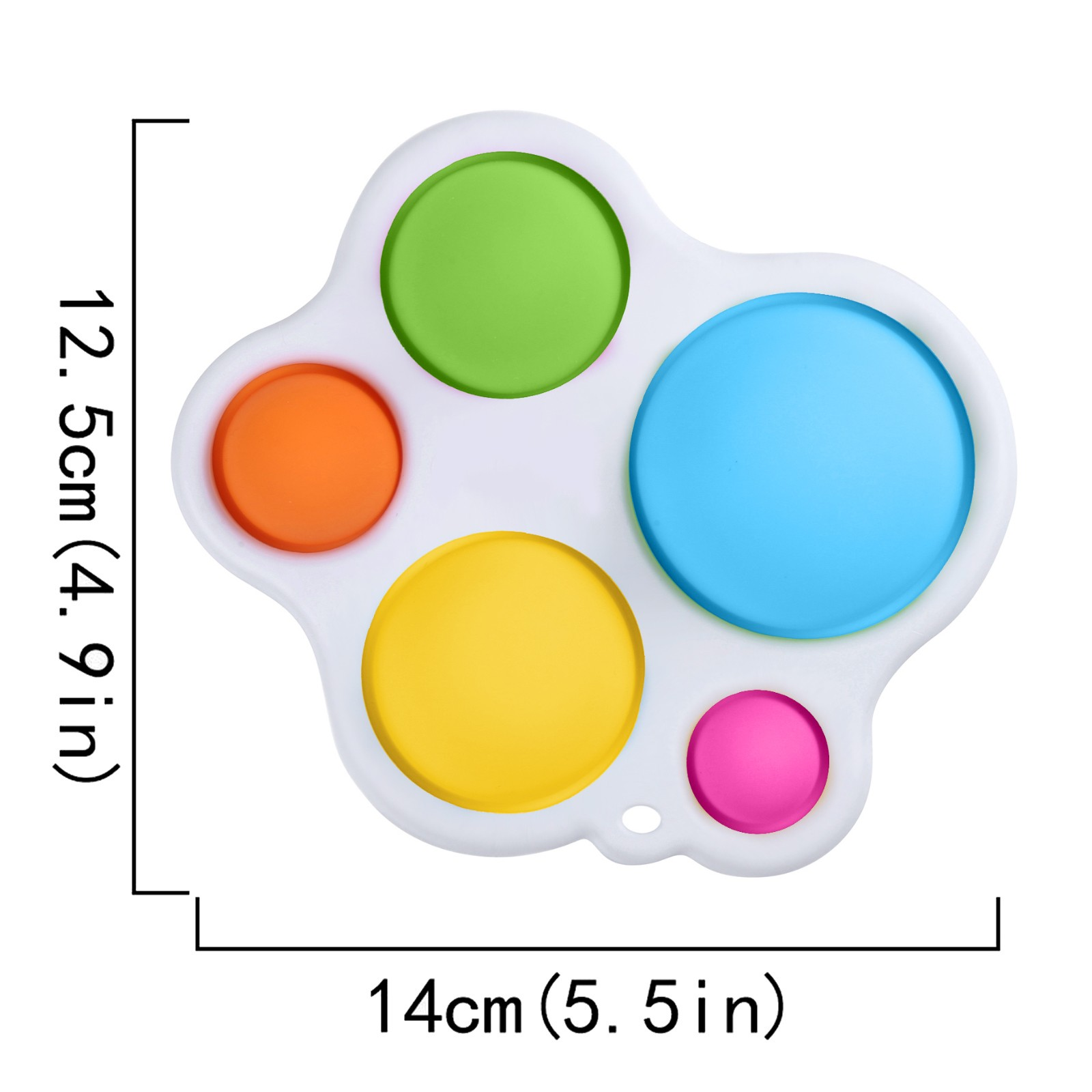Fidget Toy Baby Silicone Simple Dimple Early-Educational img3