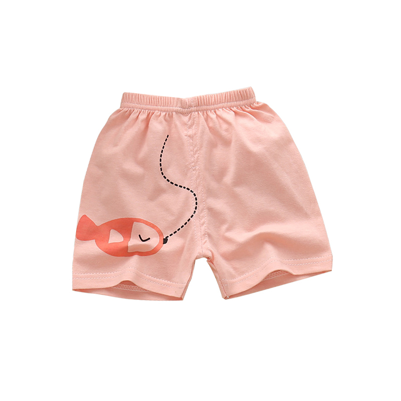 Summer Cotton Cartoon Boy Shorts Kids Shorts For Girls Beach Shorts Baby Boy Clothes Children Clothing Baby Summer Shorts