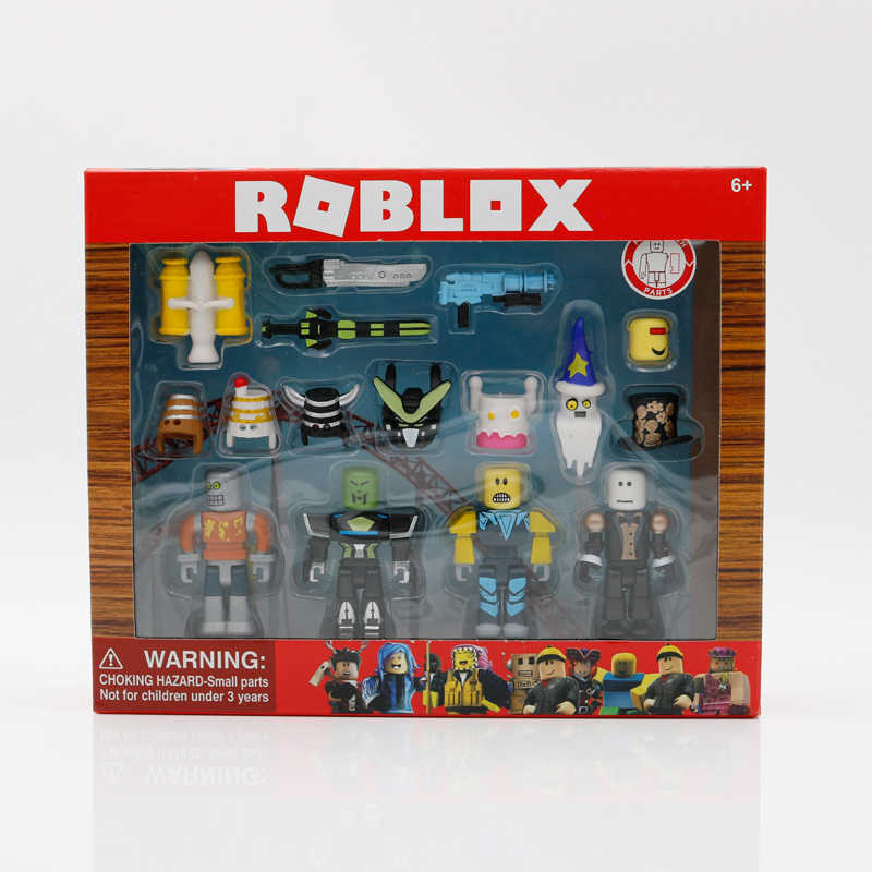 Actiefiguren Robot Rel Mix & Match Set 7Cm Model Poppen Jongens Kinderen Speelgoed Jugetes Beeldjes Collection Christmas Gift