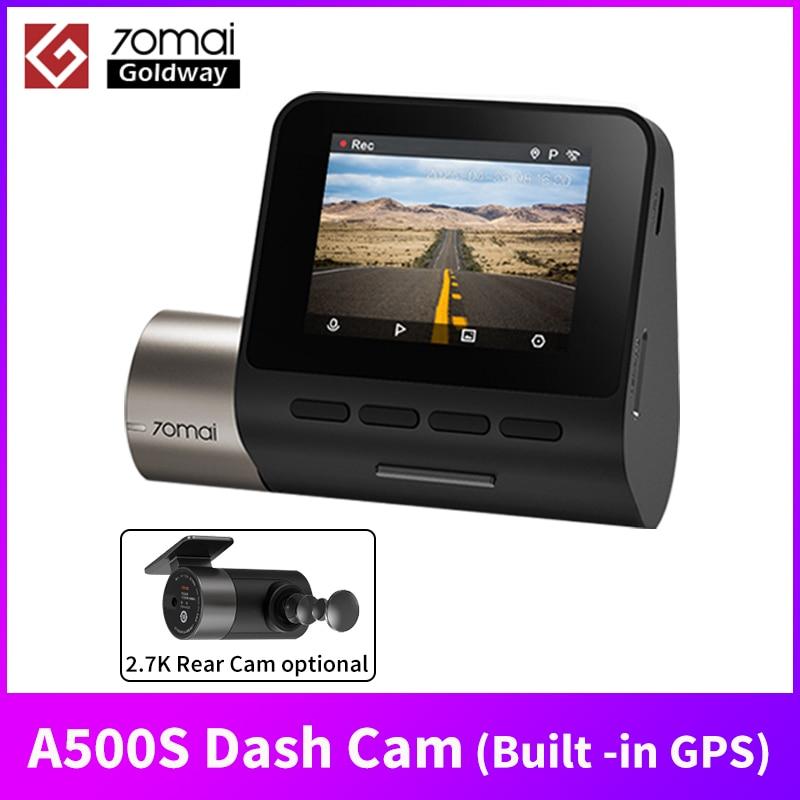 Глобальная версия Встроенный GPS 70mai A500S Dash Cam Pro Plus + 1944 ADAS Скорость координаты 24 часа в сутки для парковочной системы GPS A500S автомобиля экшн-кам...