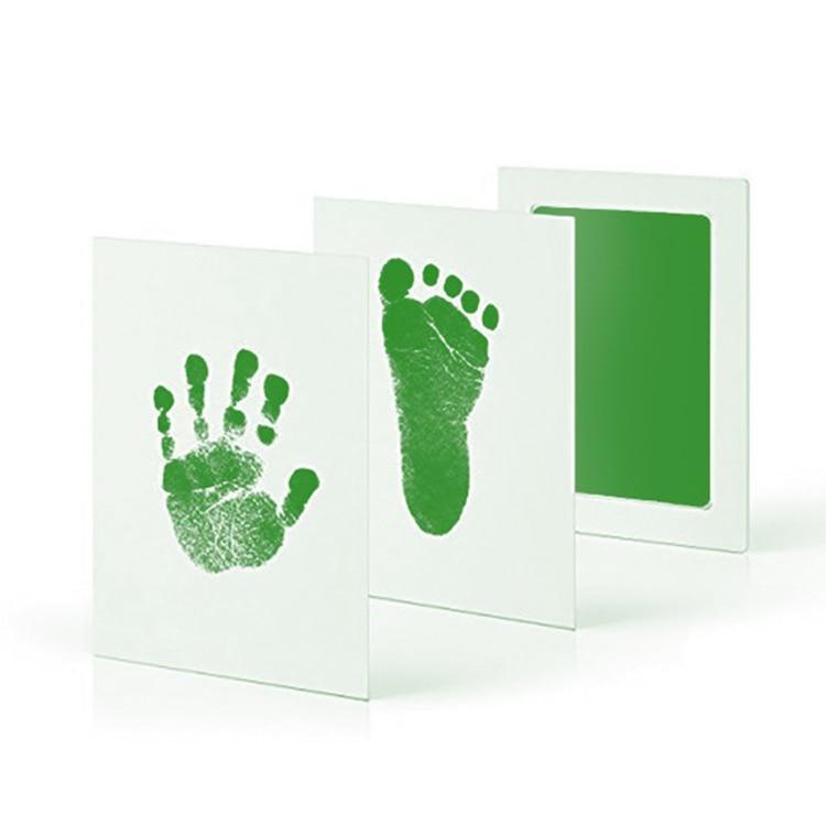 Baby footprint ink pad
