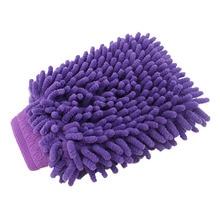 Тряпка из микрофибры для уборки автомобиля, шенилловая перчатка из ультратонкой микрофибры