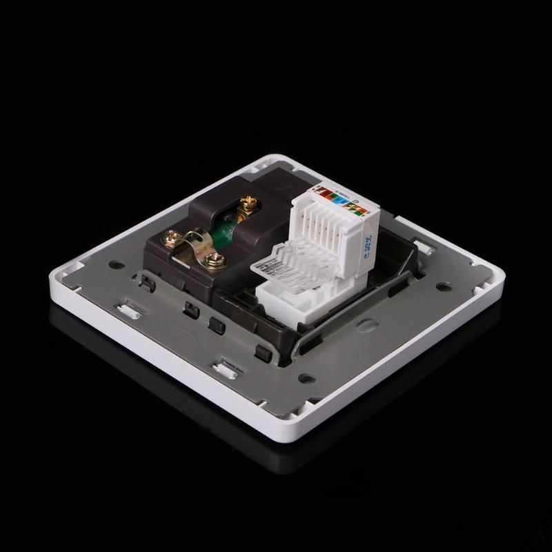 Электрическая rj45 сетевая ТВ антенна розетка настенное крепление