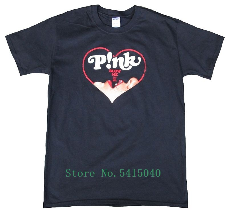 Official Pink <font><b>P</b></font>!<font><b>Nk</b></font> Truth About Love Blow Hearts Blow Me One Last Kiss <font><b>T</b></font>-<font><b>Shirt</b></font> M Cool Unisex Pride <font><b>T</b></font> <font><b>Shirt</b></font> Men Casual New image
