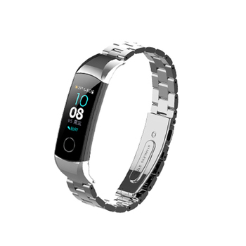 Metal bracelet Strap For Huawei Honor Band 5/4 Standard Version Smart Wristband Sport Bracelet Band honor band 4 Stainless Steel