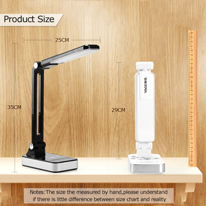 Image 5 - Flexible Table Lamp 1800mAh Rechargeable Lamps Table 30pcs Led Table Lamp 5 Modes Dimming Touch Office Business Led Desk Lamp