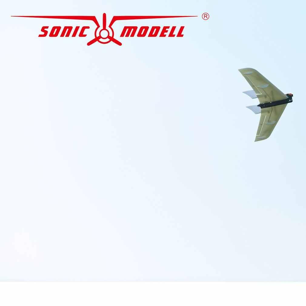 Hot Zohd Sonicmodell CF Wing1030mm Lebar Sayap RC FPV Pesawat Sayap Tetap Glider Drone Model Pesawat dengan Kecepatan Tinggi Serat Karbon kit