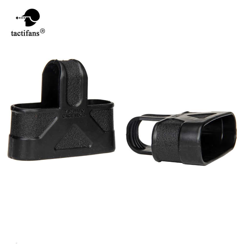 M4 / 16 पत्रिका बीके / FDE / FG शूटिंग शिकार पेंटबॉल Airsoft के लिए सामरिक 9 मिमी 5.56 7.62 रबर केज लूप्स फास्ट मैग