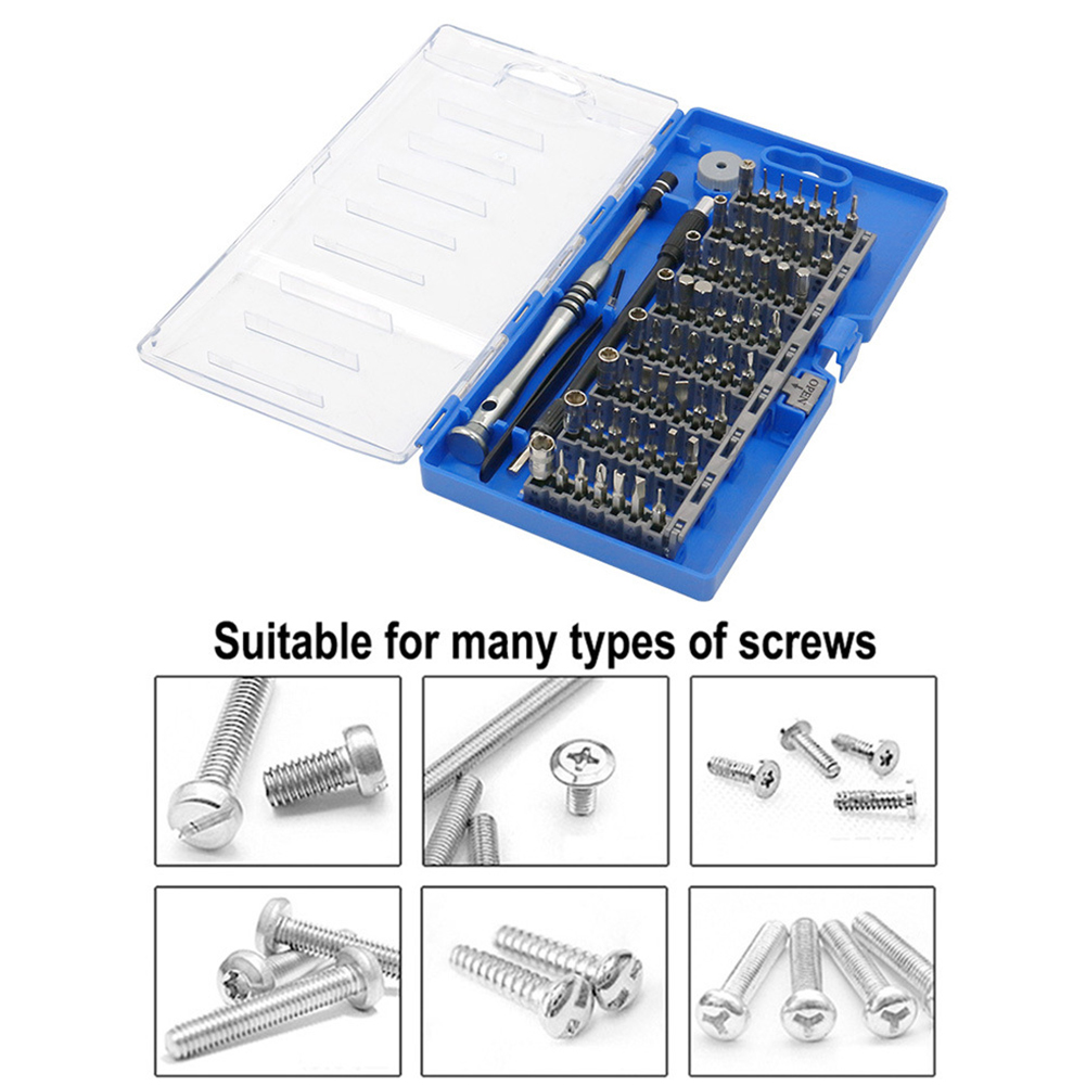 60 in1 Precision <font><b>Screwdriver</b></font> Tool Kit Magnetic <font><b>Screwdriver</b></font> Set for Phone Tablet Compact Repair Maintenance Tool image