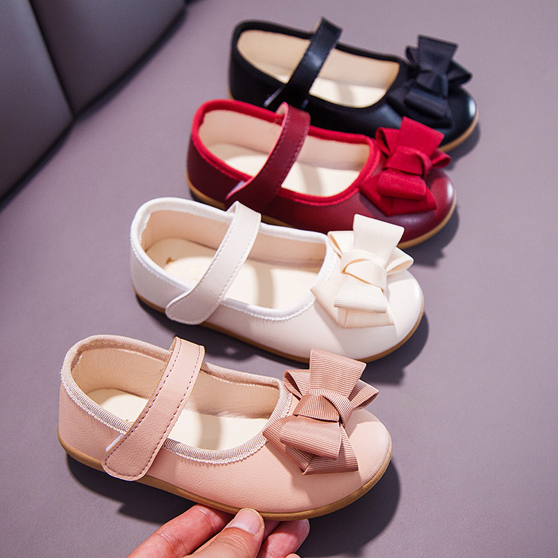 2020 Cute Bow Tie Toddler Girl Sandals Summer Kids Shoes Flat With Mary Jane Shoes For Princess Party Children Sandals C12231