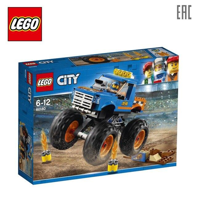 Конструктор LEGO City Great Vehicles 60180 Монстр-трак