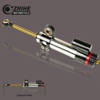 ZRIHE Motorcycle Universal Accessories Adjustable CNC Adjustable Steering Stabilize Damper FOR HONDA CBR500R CBR500R ABS