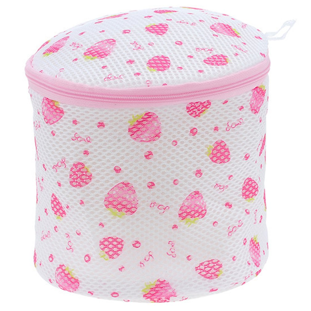 Home Bra Wash Bag Printed Round  Underwear Laundry Bag Wash Bag