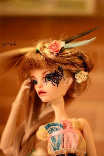 Lovely 1//4 SD BJD Girl Doll Chateau Elizabeth The Human Body DIY Toy Resin Gift