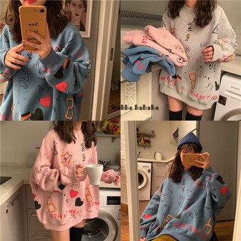 2020 Summer Couple Models Cotton Fashion Hoodies Teen Street Hip Hop Pastel Sweatshirt For Men And Women Printing Loose Hoodie