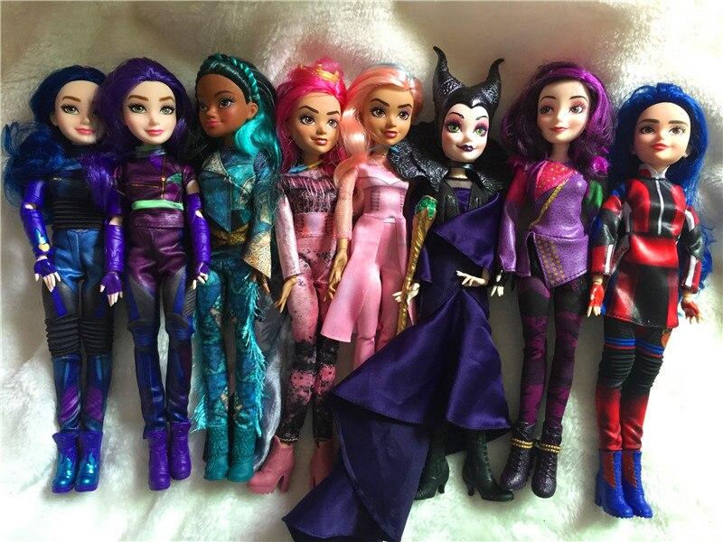 Rapunzel  Animators Doll Sofia Snow White Ariel Merida Cinderella Aurora Belle Dolls Toys For Girls Pullip Doll