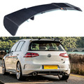 MK7 Carbon Fiber Rear Trunk Roof Spoiler for Volkswagen VW Golf 7 MK7 GTI R 2014   2017 Revozport style Window Tail Wings|Spoilers & Wings| |  -