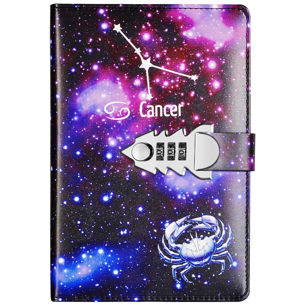 Hot DealsYakri A5 Size Twelve Constellations Pass Words Diary Book DIY Pass Words Notebook TPN145
