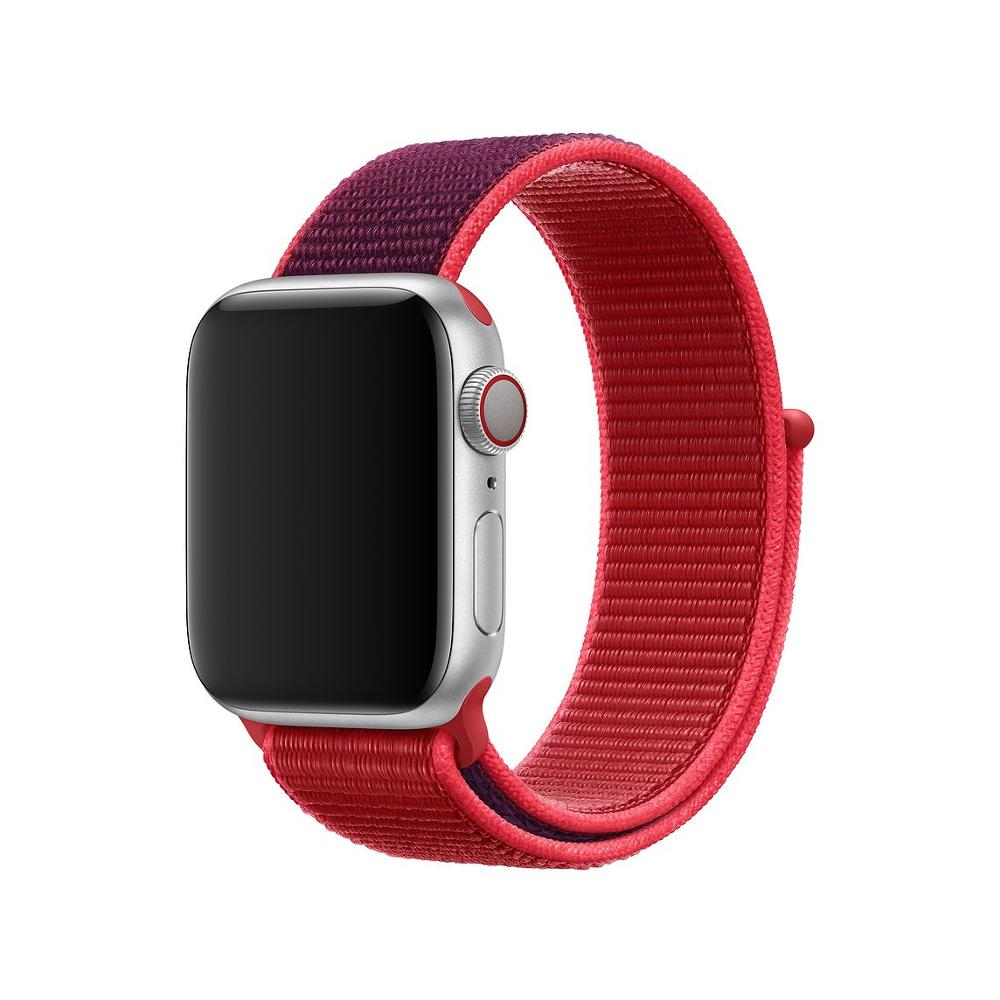 New Sport Loop Strap For Apple Watch Band 5 4 44mm 38mm IWatch 3 2 Band 42mm 38mm Correa Nylon Wrist Bracelet Watch Accessories
