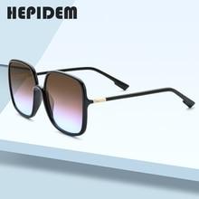 HEPIDEM 2020 New Acetate Square Sunglasses Men Gentle Brand Design Big Oversize